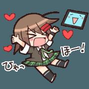 สติ๊กเกอร์ไลน์ Pronama-chan@Computer Science Club