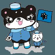 สติ๊กเกอร์ไลน์ nagomi48 Art I'm Shibako