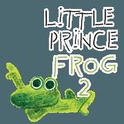 สติ๊กเกอร์ไลน์ 6-9 / Little Prince Frog-Finn 2