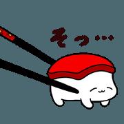 สติ๊กเกอร์ไลน์ Sleeping Sushi