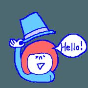 สติ๊กเกอร์ไลน์ Talk in English!