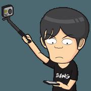 สติ๊กเกอร์ไลน์ Kanjeng Animated