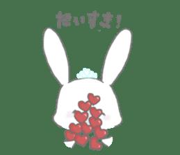 tiara bunny sticker #15498976