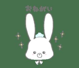 tiara bunny sticker #15498982