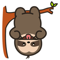 Cutey Sloth sticker #15505164