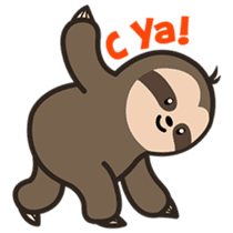 Cutey Sloth sticker #15505168