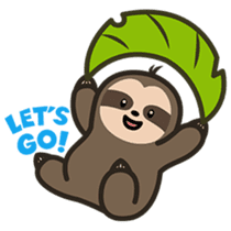 Cutey Sloth sticker #15505169