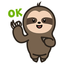 Cutey Sloth sticker #15505176