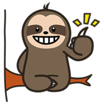 Cutey Sloth sticker #15505177