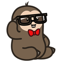 Cutey Sloth sticker #15505180
