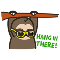 Cutey Sloth sticker #15505181