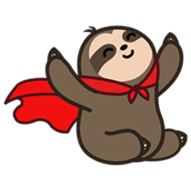 Cutey Sloth sticker #15505182