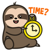 Cutey Sloth sticker #15505183