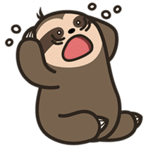 Cutey Sloth sticker #15505199