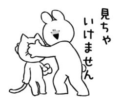 Extremely Rabbit Animated [kind words] sticker #15527817