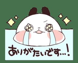 Yururin panda moving sticker #15528629