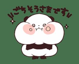 Yururin panda moving sticker #15528631