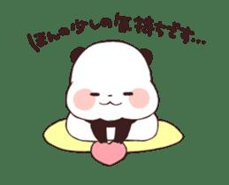 Yururin panda moving sticker #15528632