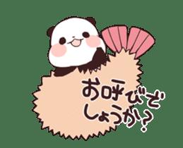 Yururin panda moving sticker #15528636