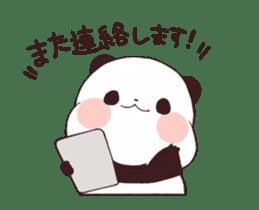 Yururin panda moving sticker #15528638