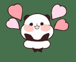 Yururin panda moving sticker #15528646