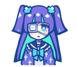 yumekawachan & yamikawachan sticker #15536090