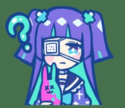 yumekawachan & yamikawachan sticker #15536096