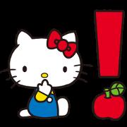 สติ๊กเกอร์ไลน์ Hello Kitty 70's