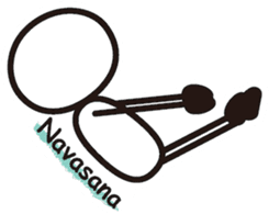 Matchstick Yoga sticker #15546280