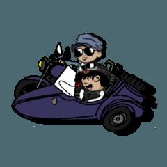 サイドカー好き&鳥取弁