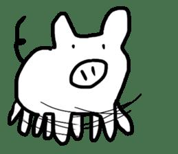 Pig series sticker #15569452