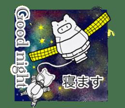 Pig series sticker #15569465