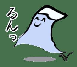 Man of Mount Fuji and a woman of Fuji sticker #15576661
