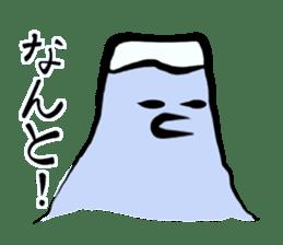 Man of Mount Fuji and a woman of Fuji sticker #15576667