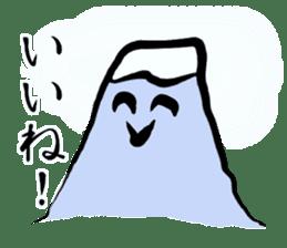Man of Mount Fuji and a woman of Fuji sticker #15576668