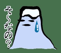 Man of Mount Fuji and a woman of Fuji sticker #15576669