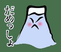 Man of Mount Fuji and a woman of Fuji sticker #15576674