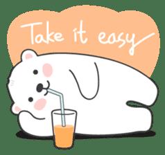 Sweet polar bear 'Gommy' stickers sticker #15580211