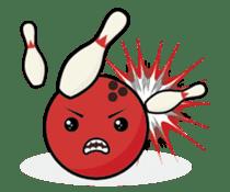 Let's Bowl sticker #15580339