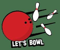 Let's Bowl sticker #15580350