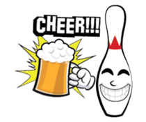 Let's Bowl sticker #15580353