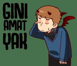 Malaikat Maut Kesepian sticker #15583411