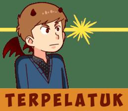 Malaikat Maut Kesepian sticker #15583432