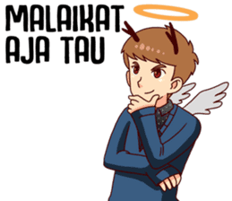 Malaikat Maut Kesepian sticker #15583446