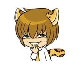 Leopard-Meow every day. (animation) sticker #15583964
