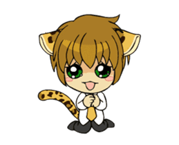 Leopard-Meow every day. (animation) sticker #15583973