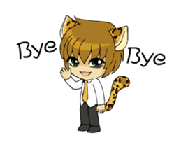 Leopard-Meow every day. (animation) sticker #15583985