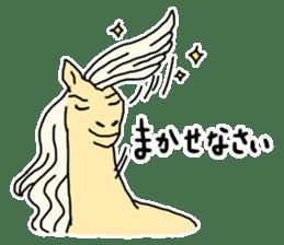 Cute Horse Sticker sticker #15584901