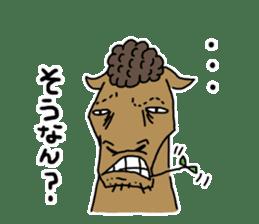 Cute Horse Sticker sticker #15584923