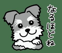 Cute! Schnauzer Stickers sticker #15586616